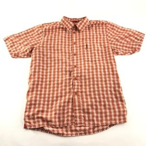 The North Face Mens Plaid Colored Button Up
